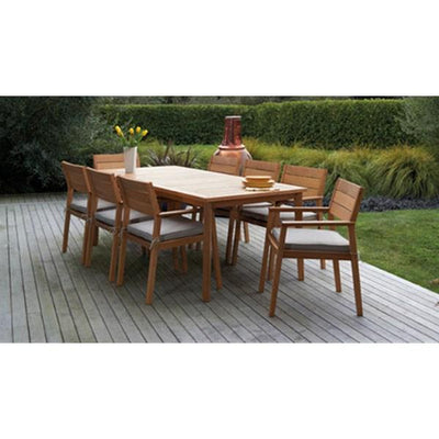 Capri 9-Piece Outdoor Dining Setting