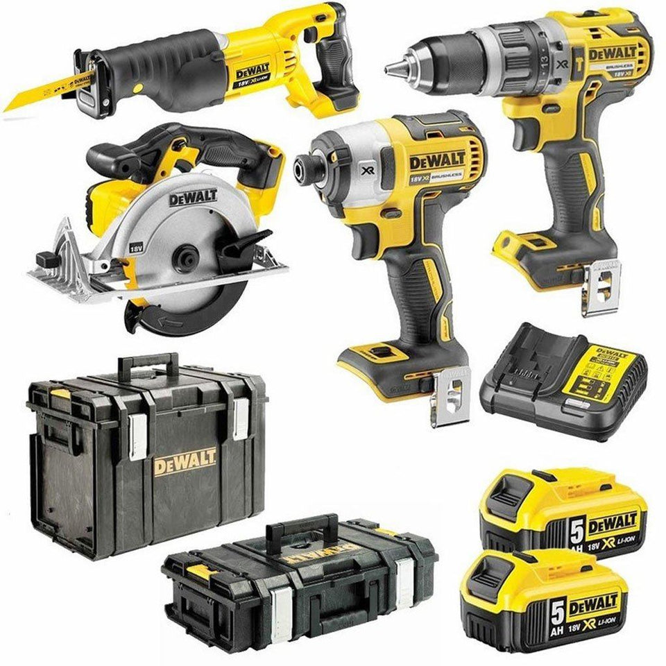 18V 5Ah 4 Piece XR Li-Ion Cordless Combo Kit