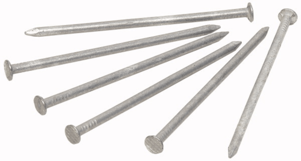 2.8 x 50mm Galvanised Flat Head Nail 200 pack