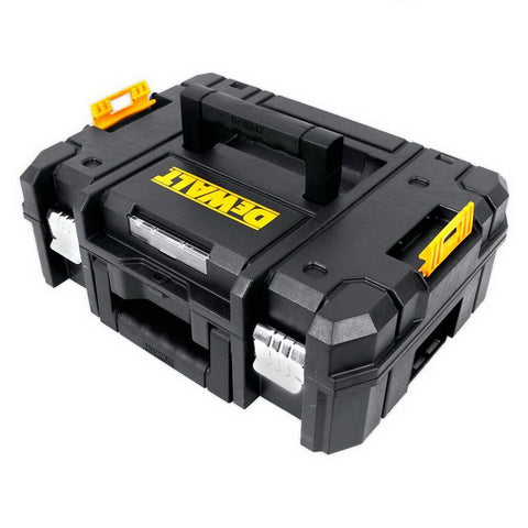 DeWalt|TStak II Flat Open Power Tool Storage Box|13.5L 440 x 176 x 332mm Polypropylene|DWST1-70703