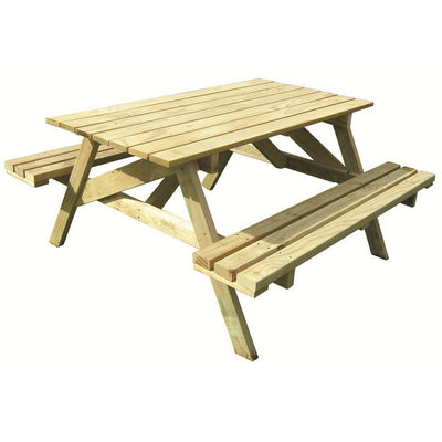 700 x 1360 x 1350mm Kitset BBQ Table H3.2 CCA Pine