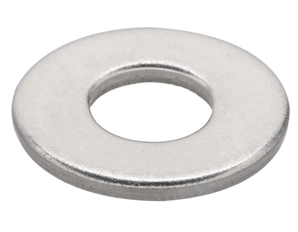 5 x 10 x 0.8mm T316 Stainless Steel Round Flat Washer 20 pack