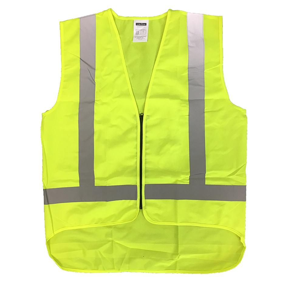 High Visibility Reflective Safety Vest Yellow