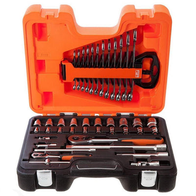 41 Piece 1/4in &1/2in Drive Socket Set
