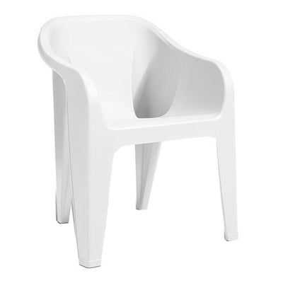 Almeria Stackable Chair White