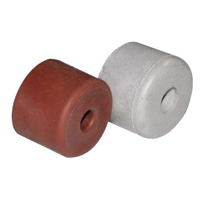 40mm Large Screw On Round Rubber Door Stop