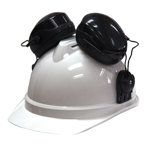 Class 5 Protection Black SA62023+ Hard Hat Earmuff Attachment