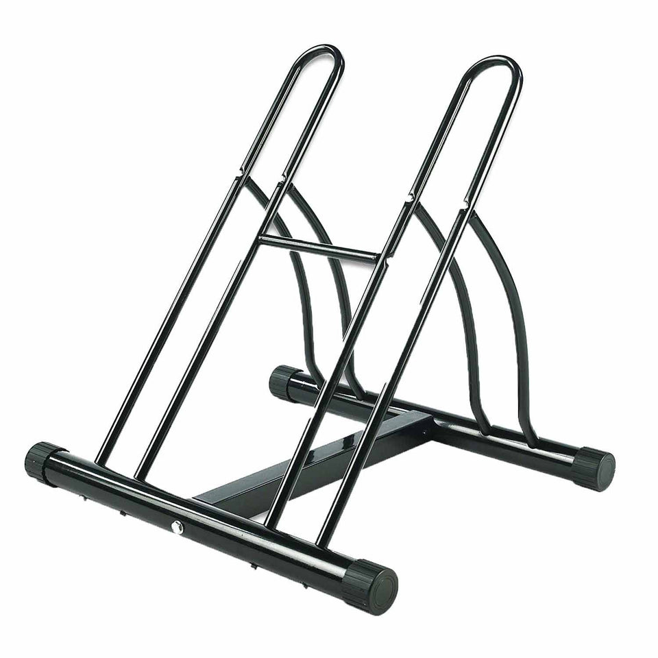 Bike Floor Stand Holds 2 Bikes