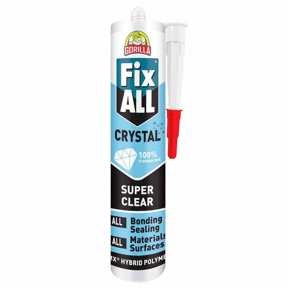 FixAll MS 300g Crystal Sealant & Adhesive Clear