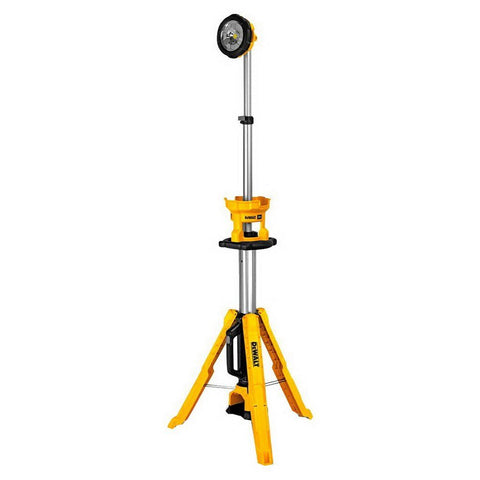 DeWalt|XR Li-ion Cordless LED Tripod Light Skin Only|18V 3000lm|DCL079-XJ