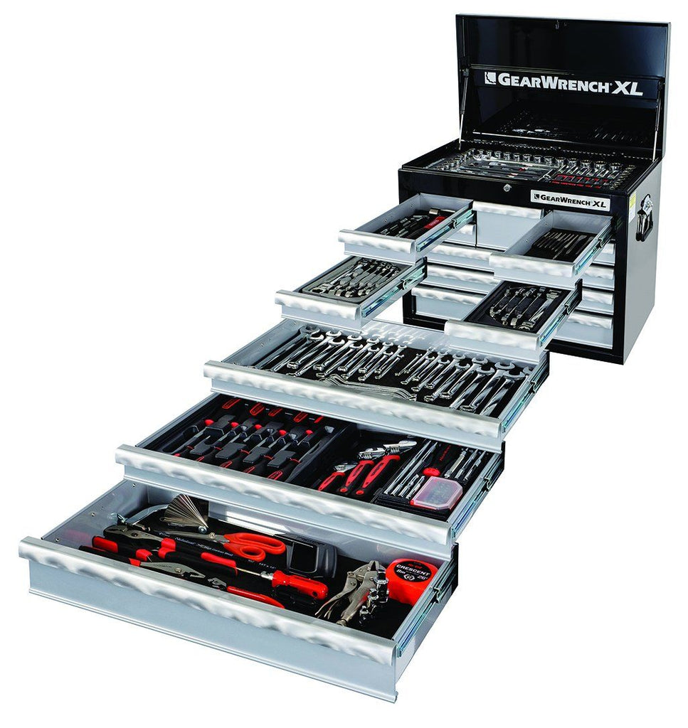 Tool Set 230Pc - 8 Drawer Deep Chest + 229Pc Tool Set