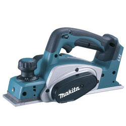 Makita|Cordless Planer Skin Only|82 x 2mm 18V 14000rpm Metal/Plastic Teal and Black|DKP180Z