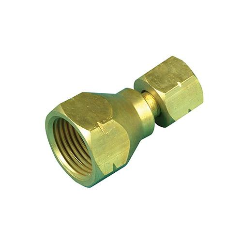 Solid Brass Companion to POL Adaptor
