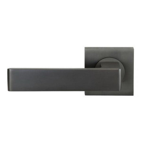 Windsor Brass|Pegasus Elite Galaxy Square Passage Set|54 x 54mm 60mm Backset Zinc Alloy Graphite Nickel|7212-GN