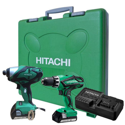 18V Lithium-Ion Driver Drill & Pro Series Impact Driver Kit