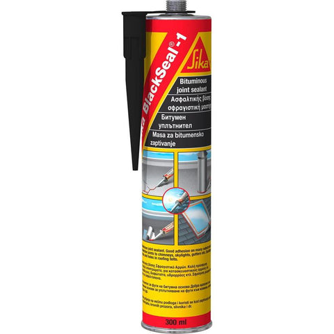 300mL Black BlackSeal-1 Bitumen Based Joint Sealant