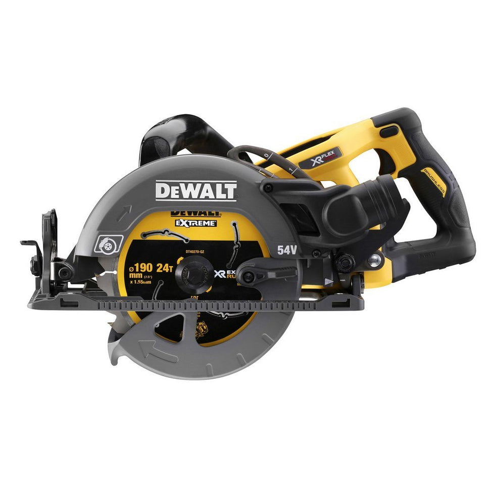 Flexvolt 54V XR Li-Ion Brushless 190mm High Torque Circular Saw Skin