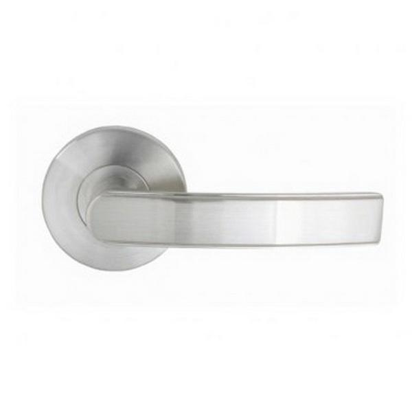 Windsor Brass|Kona Jura Fixed Non-Handed Dummy Lever|65mm Zinc Diecast Brushed Nickel|9010-BN