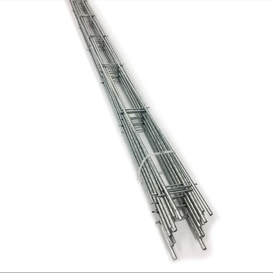 29 x 2000mm Galvanised Bricklock Straight 10 pack