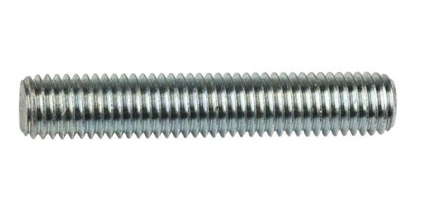 12mm x 1m Zinc Plated Threaded Rod