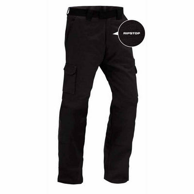 Titan 100% Ripstop Cotton Lightweight Cargo Trouser Black