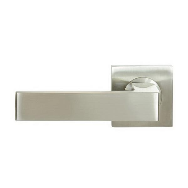 Pegasus Elite Galaxy Square Passage Set Brushed Nickel