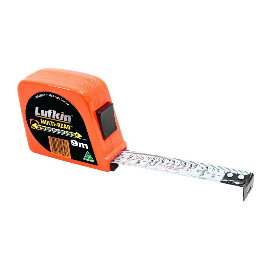 Multiread 9m Measuring Tape Orange Case