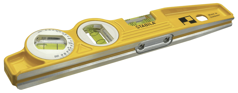 250mm Type 81SM 3 Vial 45 deg Magnetic Torpedo Level
