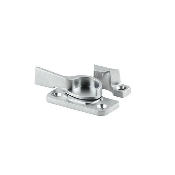 Sliding Window Crescent Sash Fastener Satin Chrome