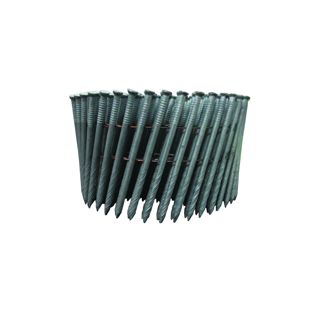 HammaHand 2.8 x 65mm Galvanised Jolt Head Coil Nail 3000 pack