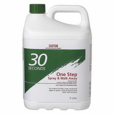 5L One Step Spray & Walk Away Lichen, Moss & Mould Remover