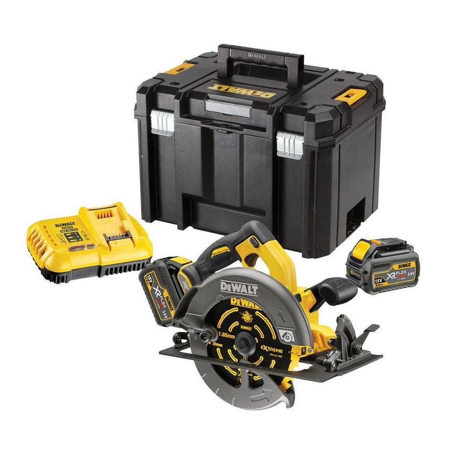 Flexvolt 54V 6Ah XR Li-Ion Brushless 184mm Circular Saw Kit
