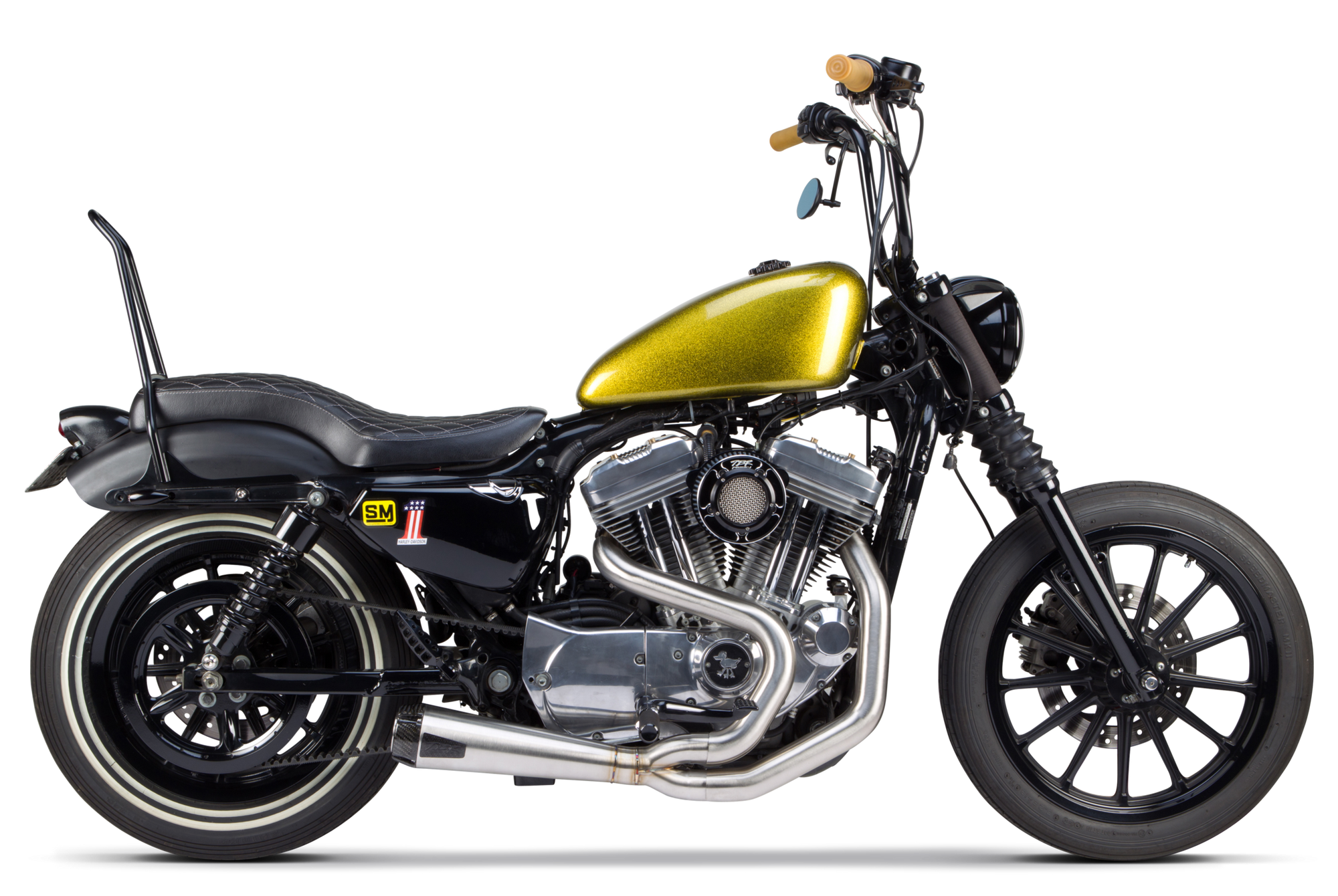 Tbr 2 1 Exhaust System Sportster Whiplash Speed Company