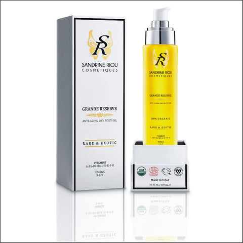 Grande Reserve Organic Dry Body Oil (100 mL / 3.4 OZ).
