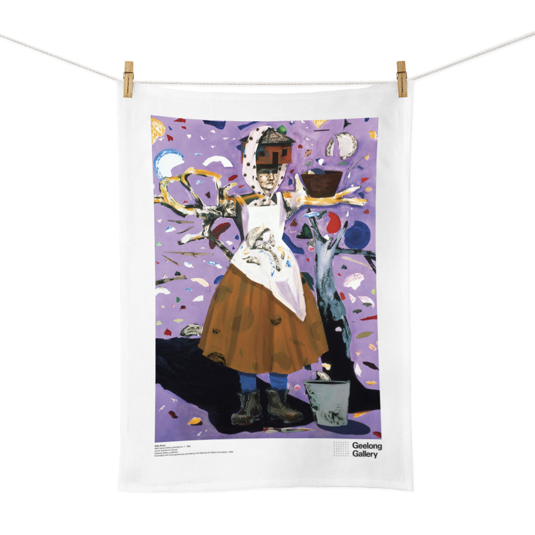 custom design tea towel artwork