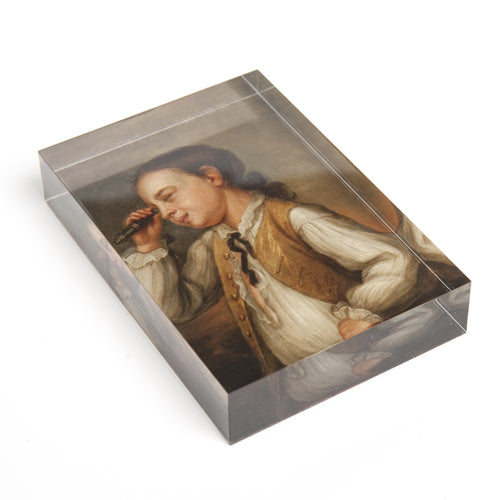 custom art acrylic block merchandise