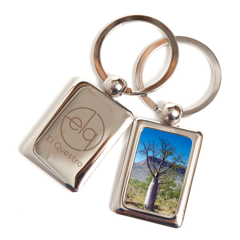 Metal Rectangular Keyrings