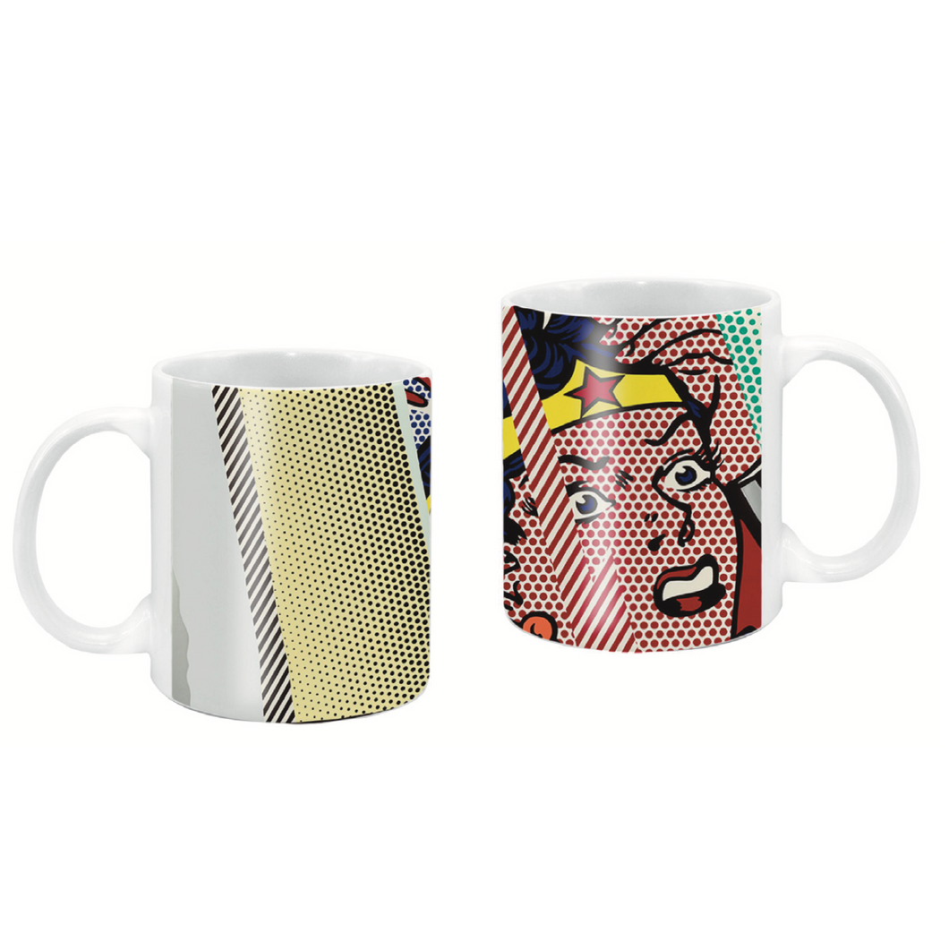 D Handle Coffee Mug