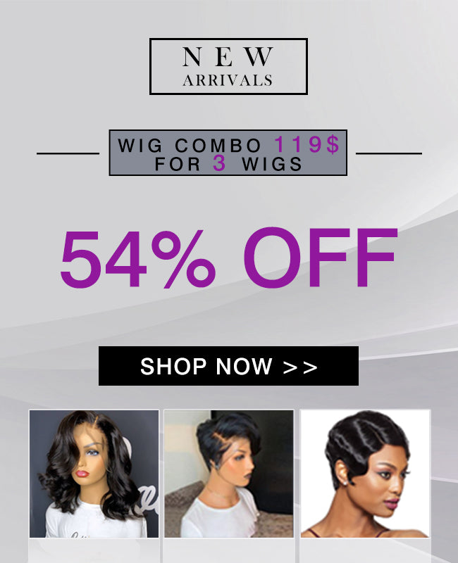 Wig Combo 69$ For 3 Wigs