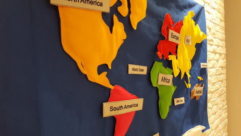 Children World Map