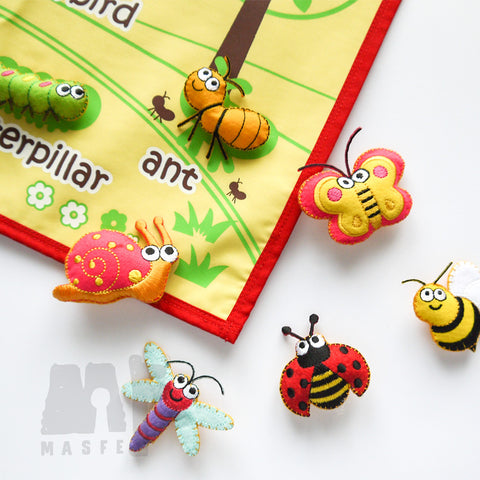 Insect Learning Wall Chart, Insects Wall Chart