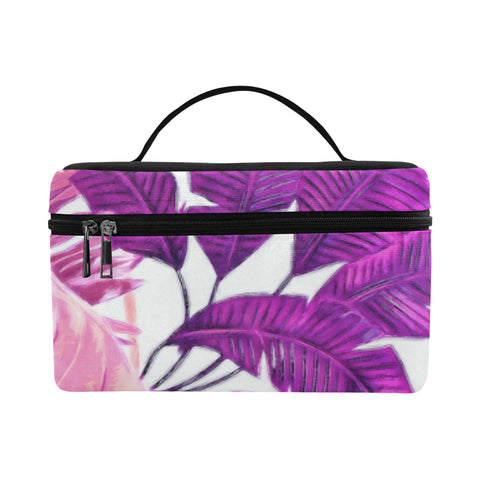 Warm Tropical Cosmetics Bag