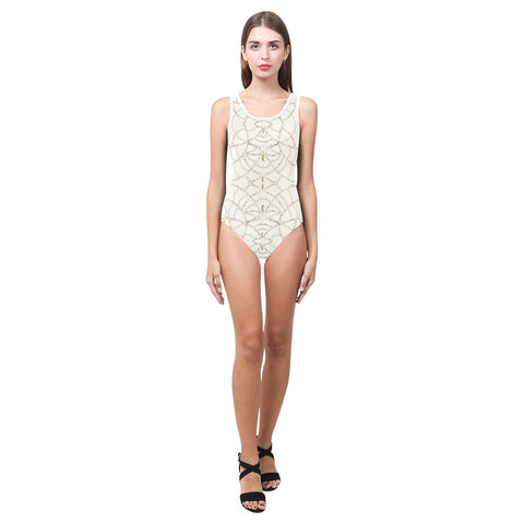 Beaded Pearls One Piece Swimsuit