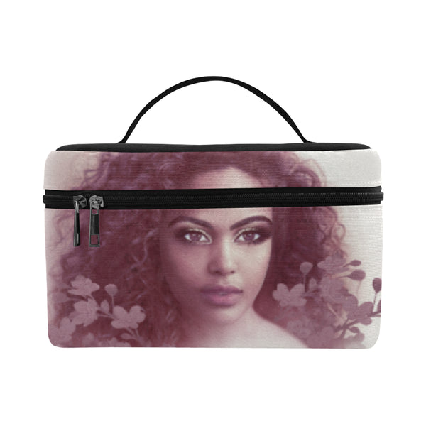 Aria Burgundy Cosmetics Bag