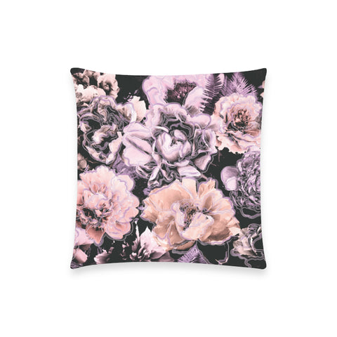 Bold Floral Purple Pillow Case