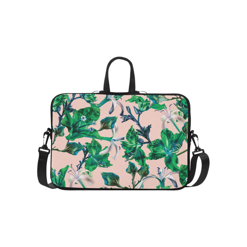 Pink Tropical Bramble Laptop Bag 15.6""