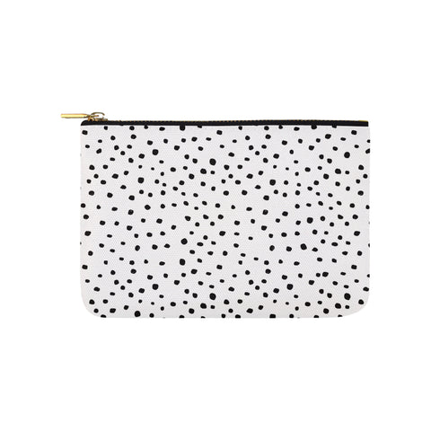 Black Dots on White Clutch