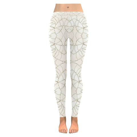 Beaded Pearls Leggings