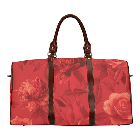 Red Roses Travel Bags