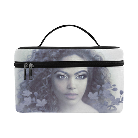 Aria Blue Cosmetics Bag
